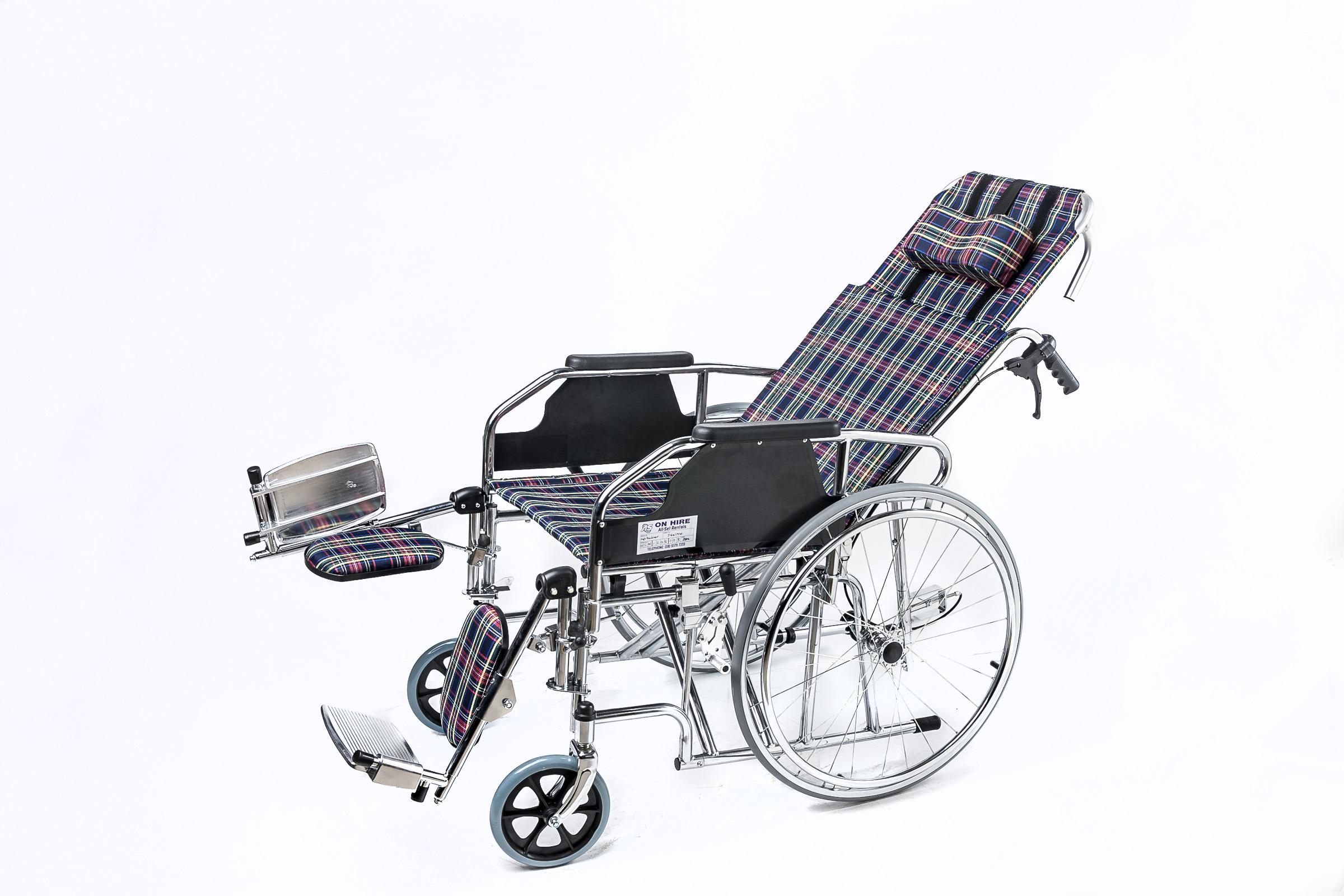 High Recliner Wheelchair